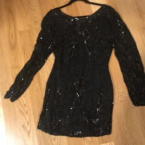 Dresses & Skirts - Sequin mini dress from vintage store, never worn